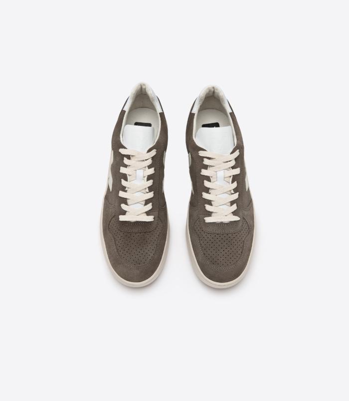 Veja - Man V-10 Suede Moonrock Sneakers