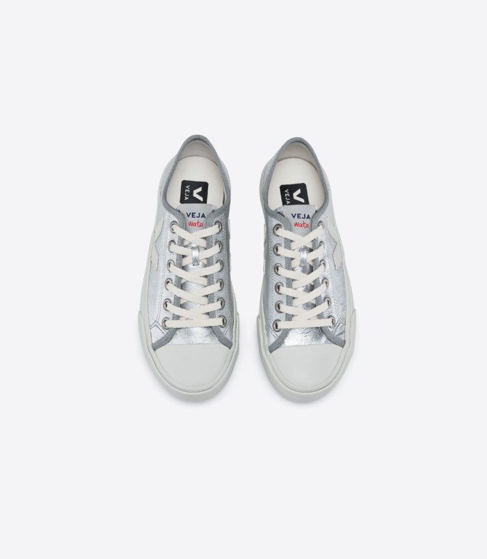 Veja - WATA Leather Silver