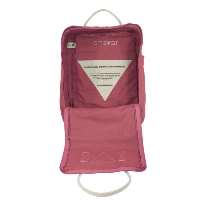 Melawear - Ansvar II Ryggsäck, rosa
