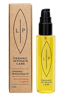 Lip Organic Intimate Care - Cleansing + Moisturising Oil