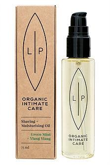 Lip Organic Intimate Care - Shaving + Moisturising Oil