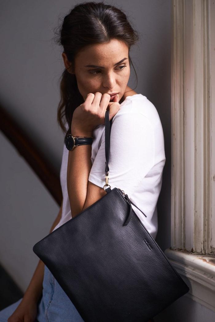 O My Bag - The Scottie Maxi, Eco Midnight Black