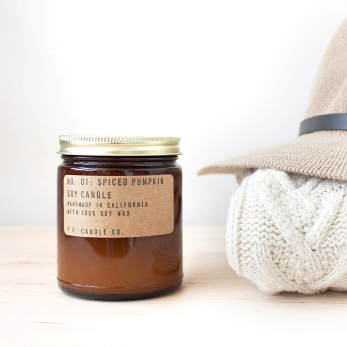 P.F. Candle Co. - Spiced Pumpkin Soy Candle