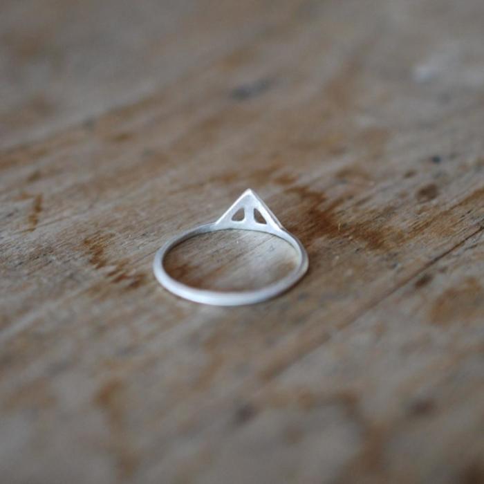 Wild & Arrow - Taika Small Ring, Silver