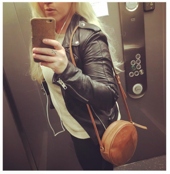 O My Bag - Luna Bag / Deadwood - Biker Jacket