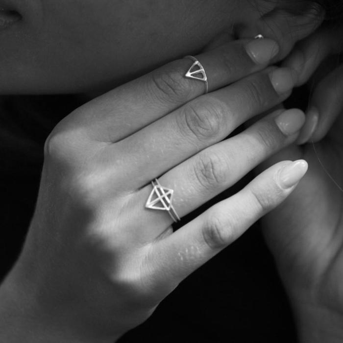 Wild & Arrow - Taika Ring, Silver