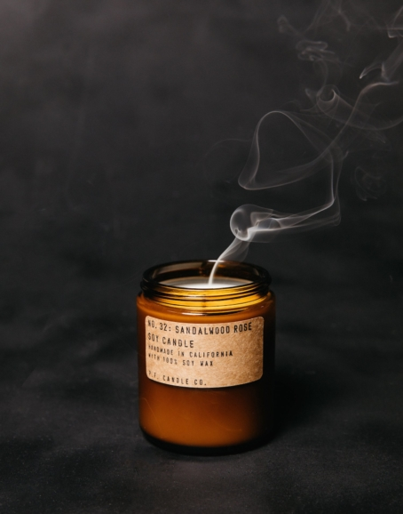 P.F. Candle Co. - Sandalwood Rose Soy Candle