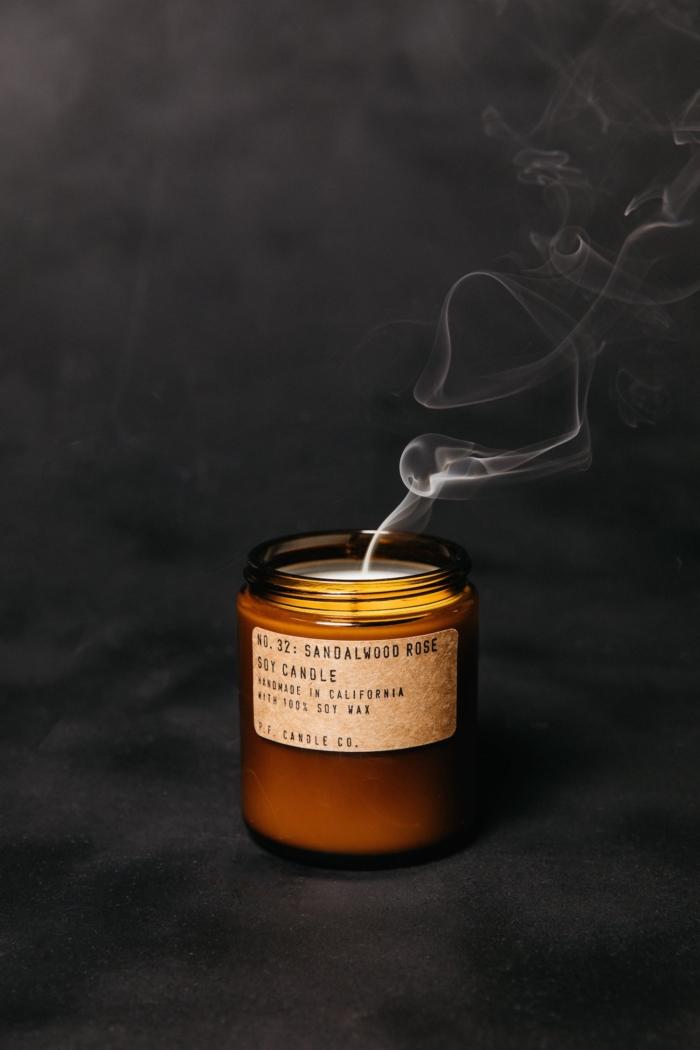 P.F. Candle Co. - Sandalwood Rose Soy Candle