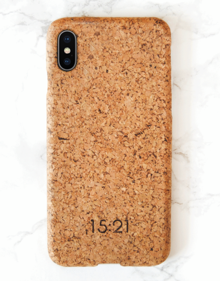 15:21 - iPhoneskal i kork, XS Max
