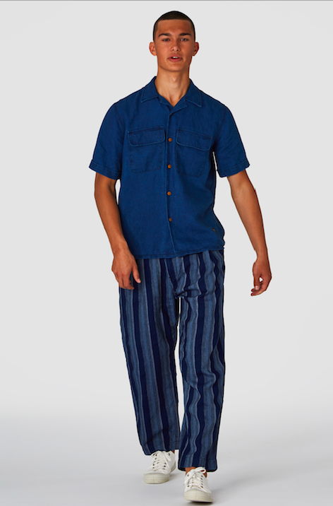 Kings of Indigo - Henri Stripe Tencel Pants