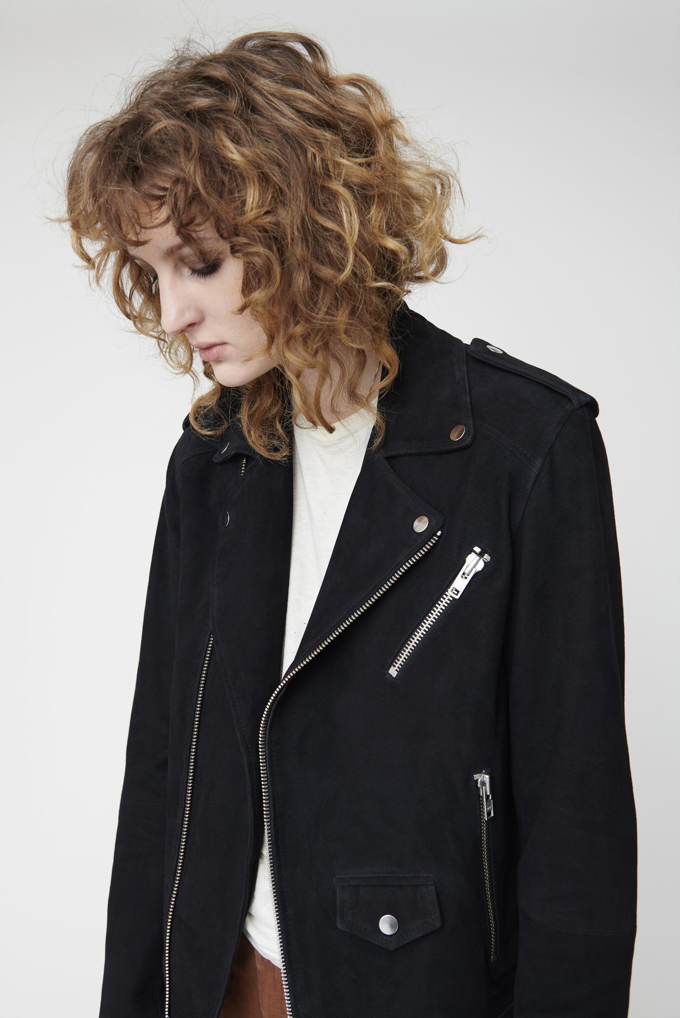Deadwood - River Black Suede Jacket