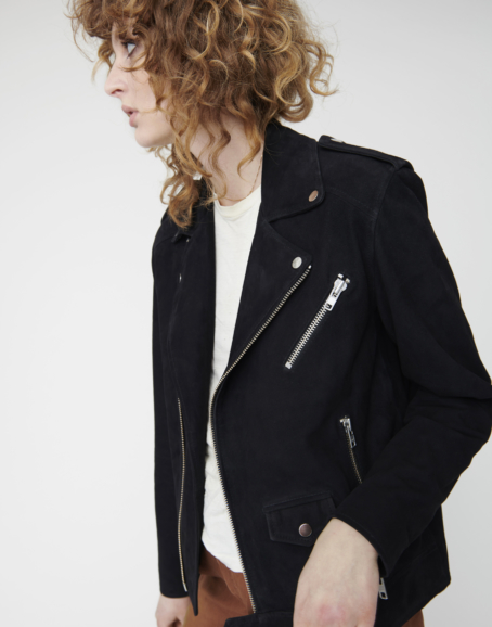 Deadwood - River Black Suede Jacket