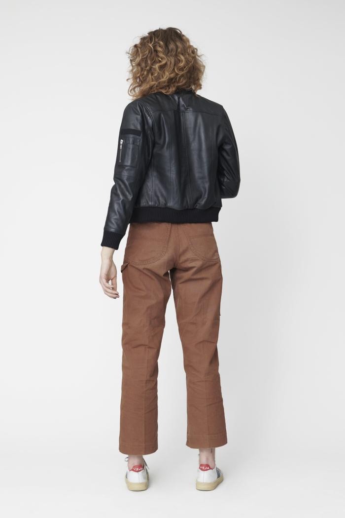 Deadwood - Combo Original Leather Jacket