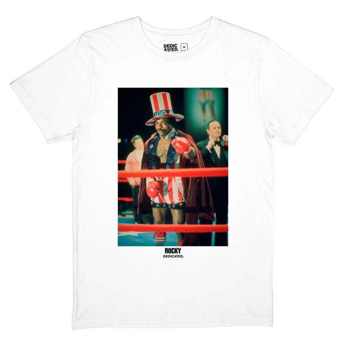 Dedicated x Rocky Balboa - Apollo Creed T-Shirt