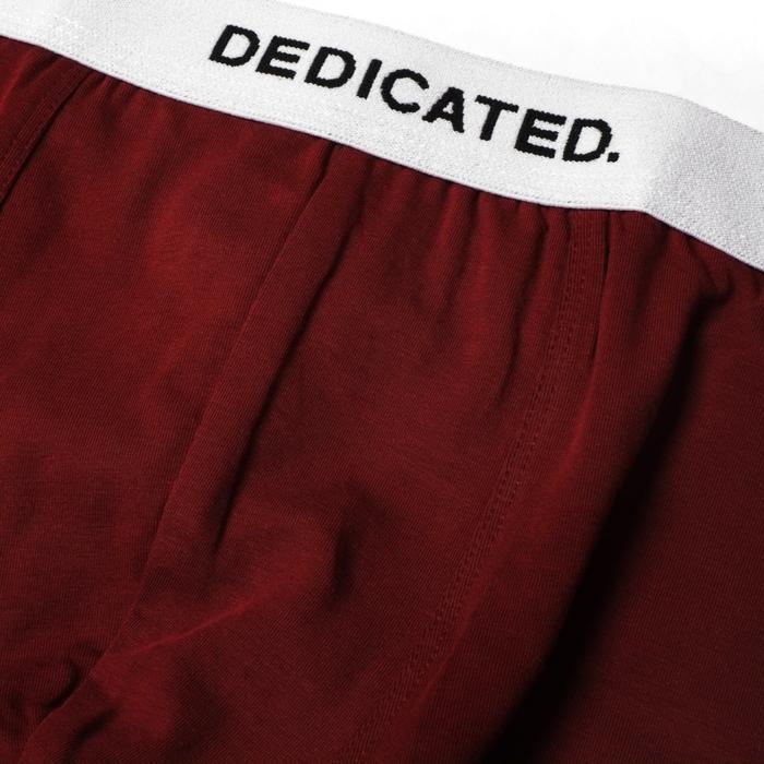 Dedicated - Boxer Briefs, Burgundy