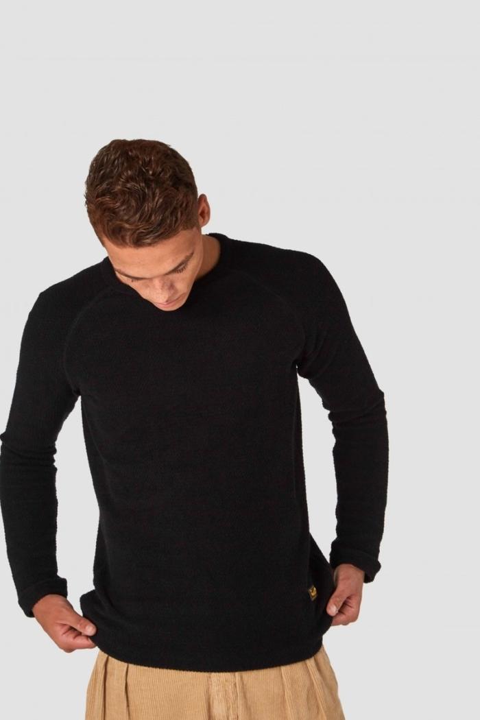 Kings of Indigo - Egon Sweater, Black