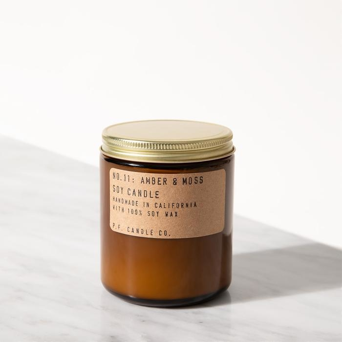 P.F. Candle Co. - Amber & Moss Soy Candle