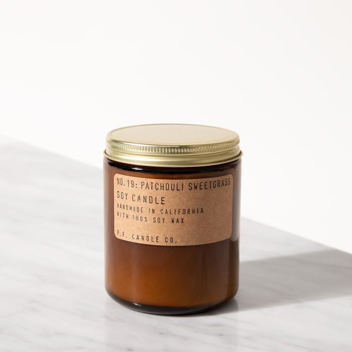 P.F. Candle Co. - Patchouli Sweetgrass Soy Candle