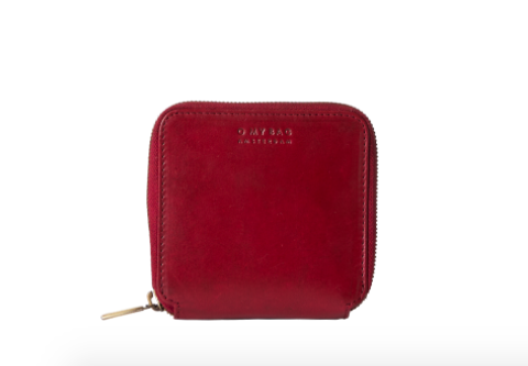 O My Bag - Sonny Square Wallet, Ruby