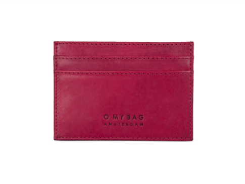 O My Bag - Mark's Cardcase Ruby