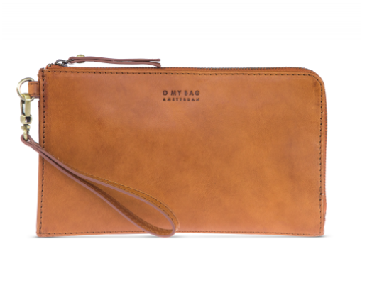 O My Bag - Travel Wallet / Clutch Bag, Cognac