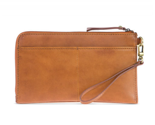 O My Bag - Travel Wallet / Clutch Bag, Cognac
