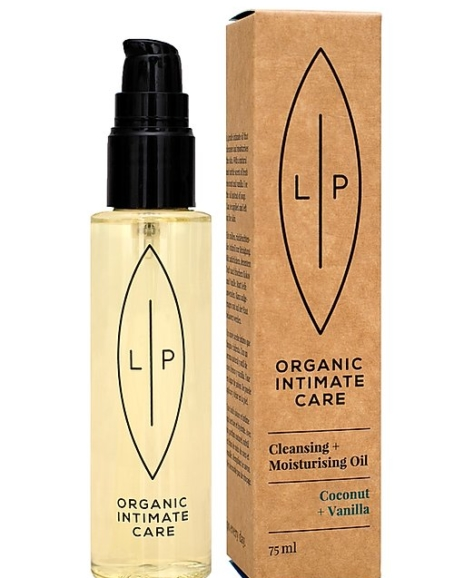 Lip Organic Intimate Care - Cleansing + Moisturising Oil, Coconut + Vanilla