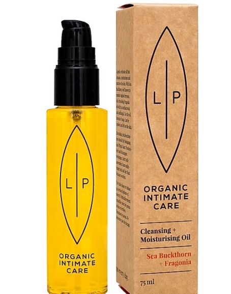 Lip Organic Intimate Care - Cleansing + Moisturising Oil, Sea Buckthorn + Fragonia