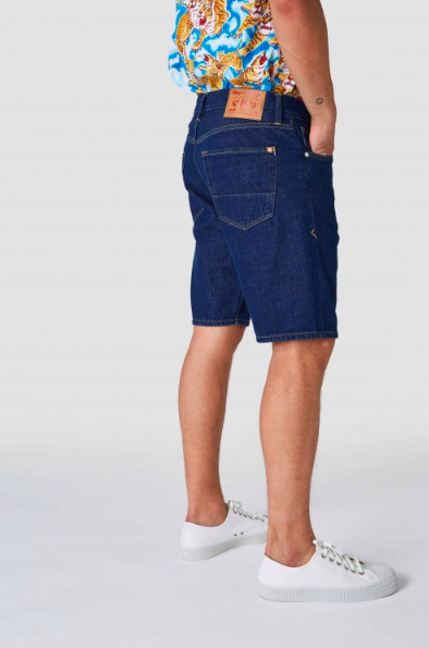 Kings of Indigo - Lucius Denim Shorts, Mid Shade Denim