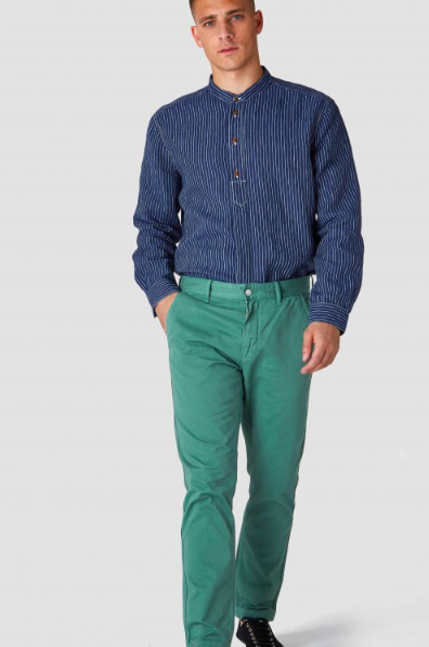 Kings of Indigo - Sujin Chinos, Pear Green