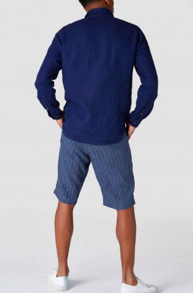 Kings of Indigo - Enda Pocket Shirt, Dark Navy