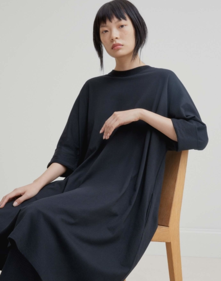 Kowtow - Oversized Boxy Dress, Black