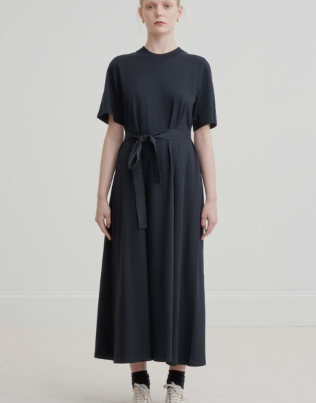 Kowtow - Tee Shirt Swing Dress, Black