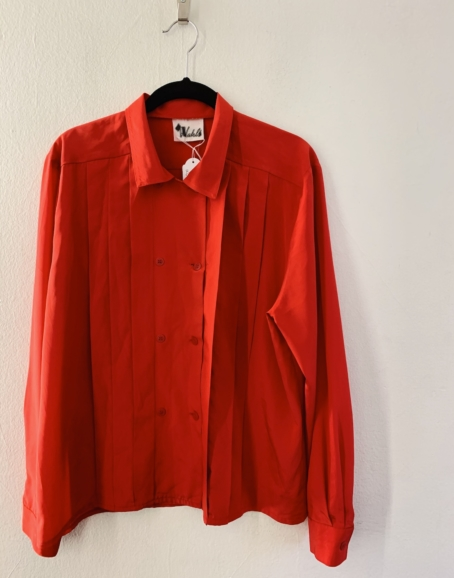 Ecosphere Vintage - Red Silky Shirt