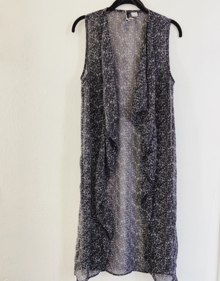 Ecosphere Vintage - Long Kimono Vest