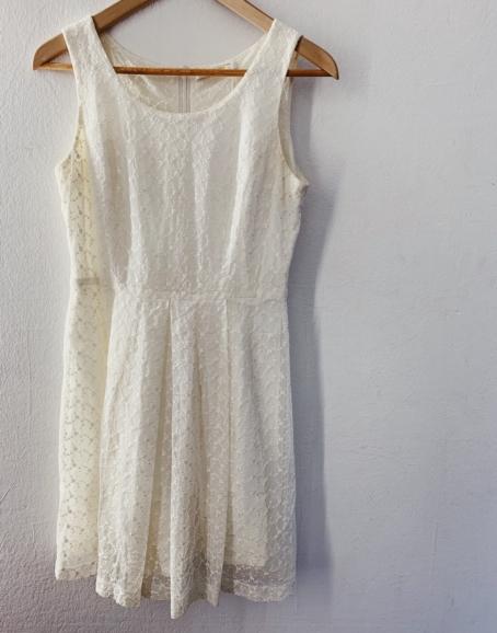 Ecosphere Vintage - White Lace Dress