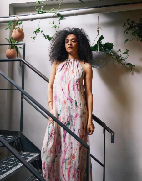 Cossac - Printed Maxi Dress
