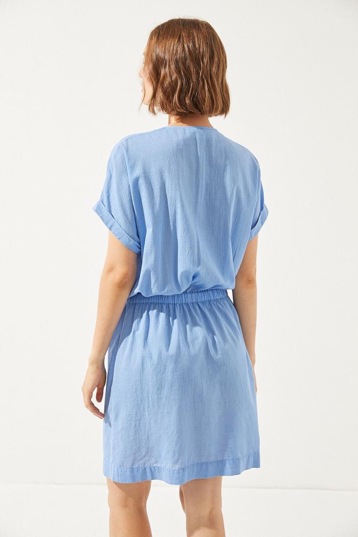 CUS - Eulima Dress, Splash Blue