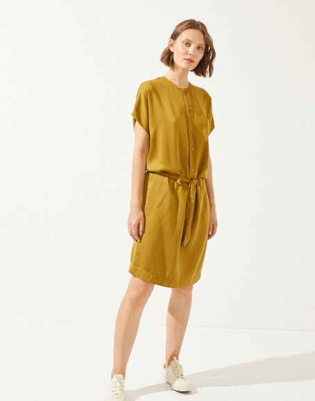 CUS - Eulima Tencel Dress, Sahara