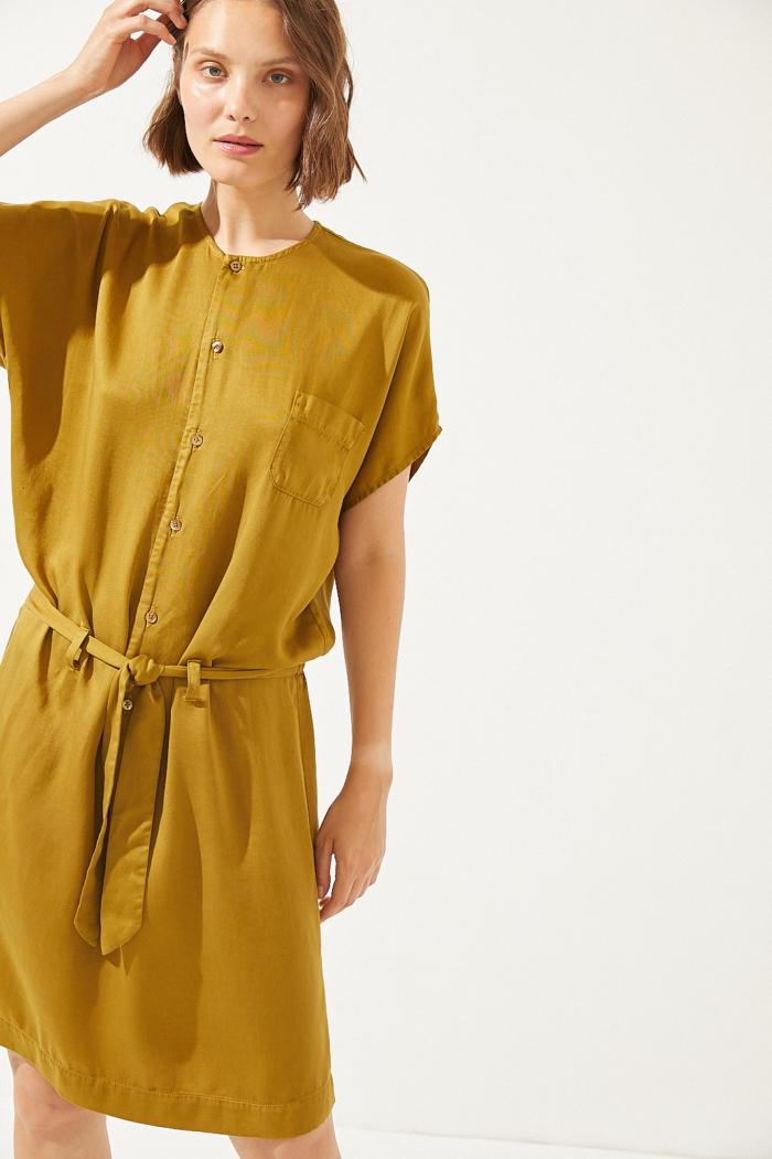 CUS - Eulima Tencel Dress, Sahara