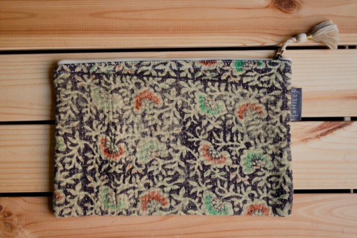 aHill - Vintage Kantha Pouch