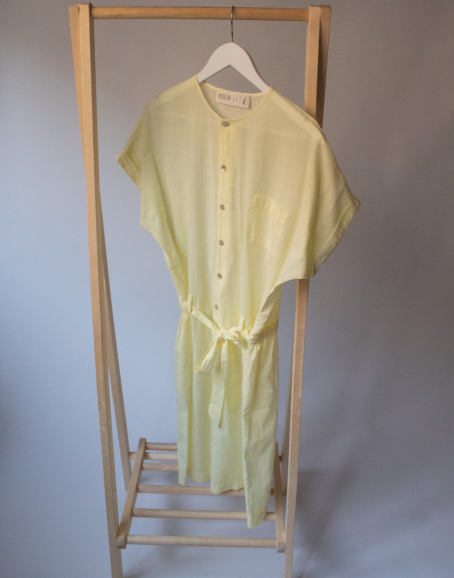 CUS - Eulima Dress, Tender Yellow