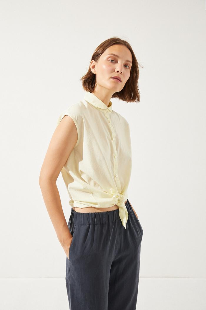 CUS - Spirulla Shirt, Tender Yellow