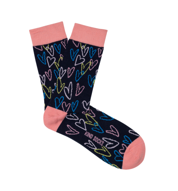 Kind Socks - Heart Socks