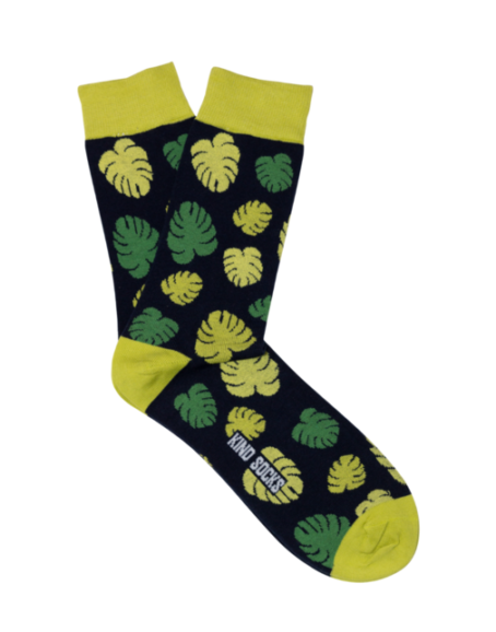 Kind Socks - Monstera Sock