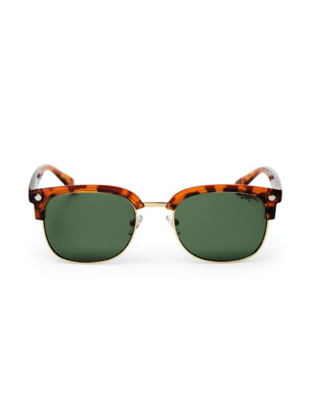 CHPO - Rumi Sunglasses, Turtle Brown/Green