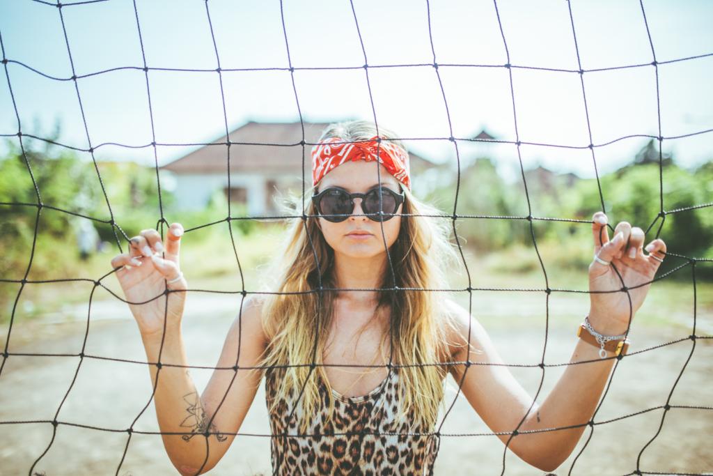 CHPO - Sarah Sunglasses, Black/Black