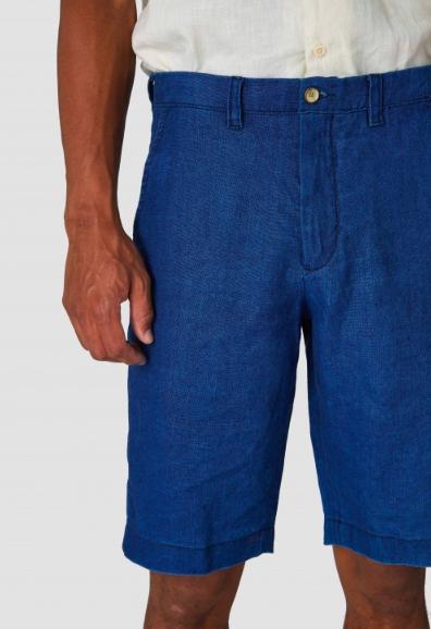Kings of Indigo - Cronus Dark Navy Linen Shorts
