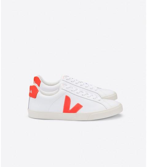 Veja - Esplar Sneaker, White Orange Flou