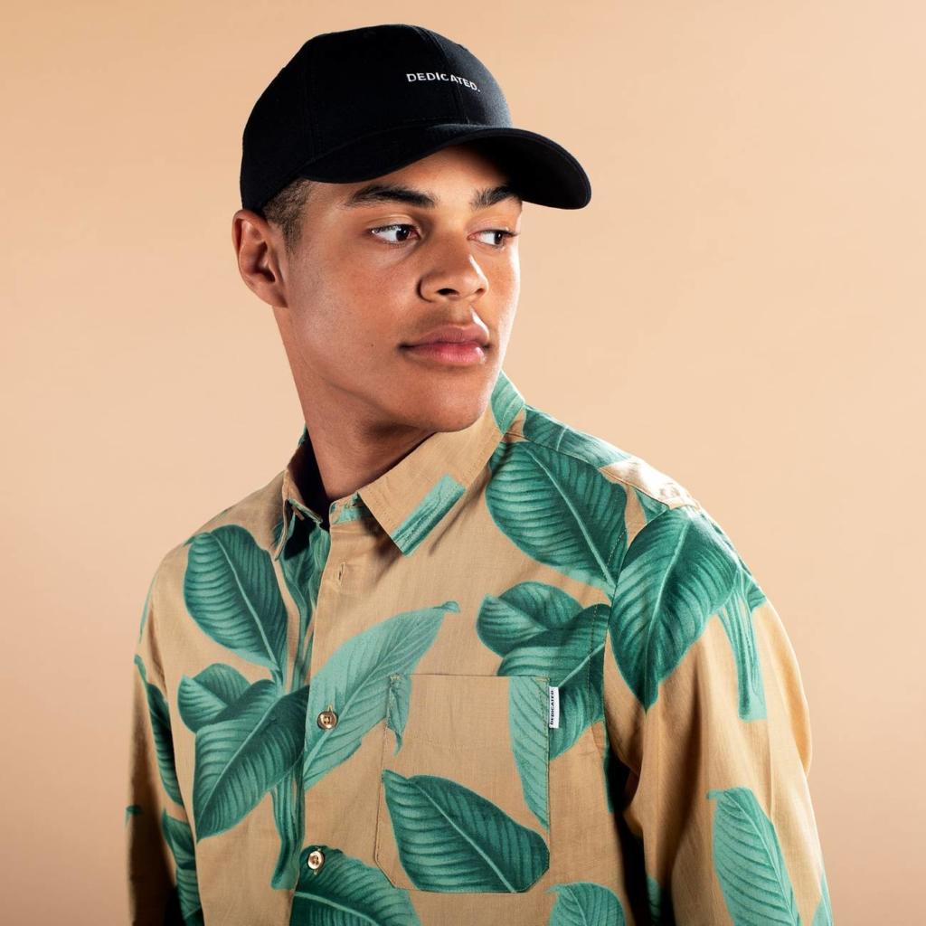 Dedicated - Khaki Leaves Shirt